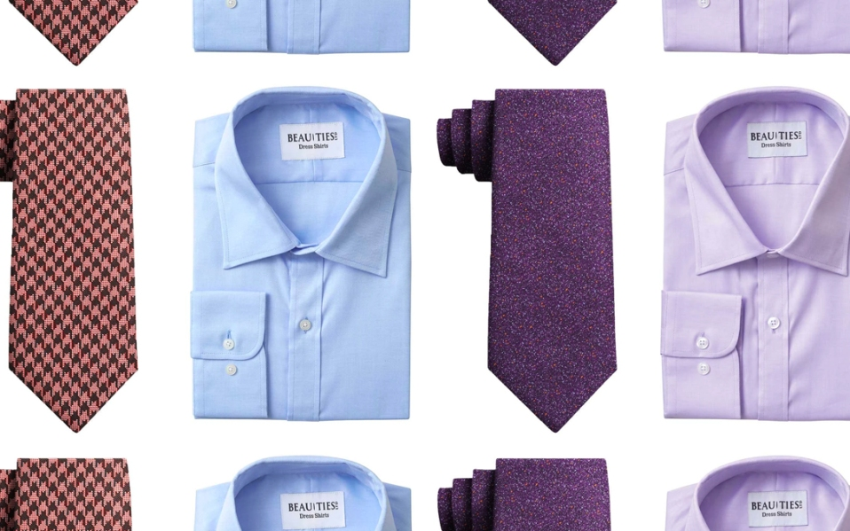 how to match ties and shirts
