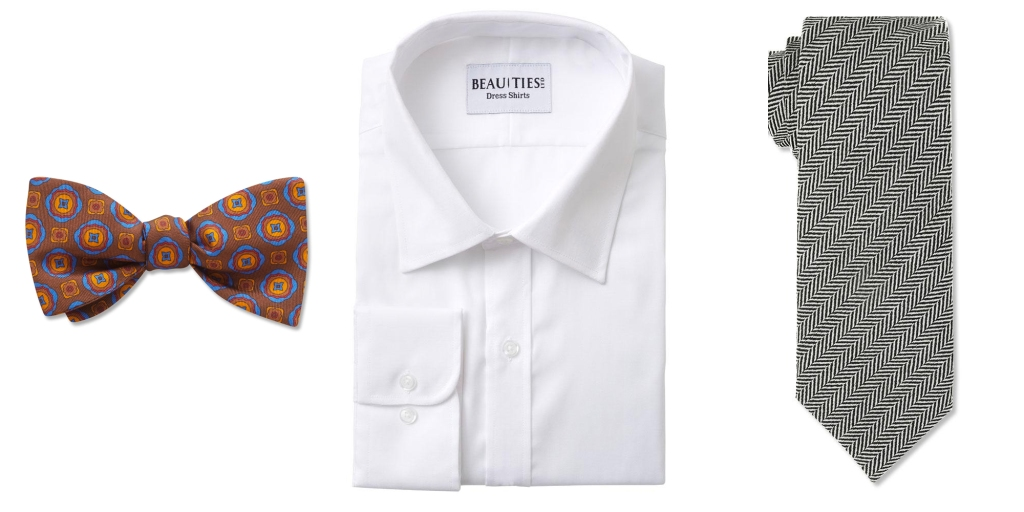 matching shirts with ties