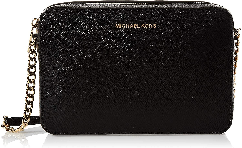 MICHAEL Michael Kors Women's Jet Set Cross Body Black Bag