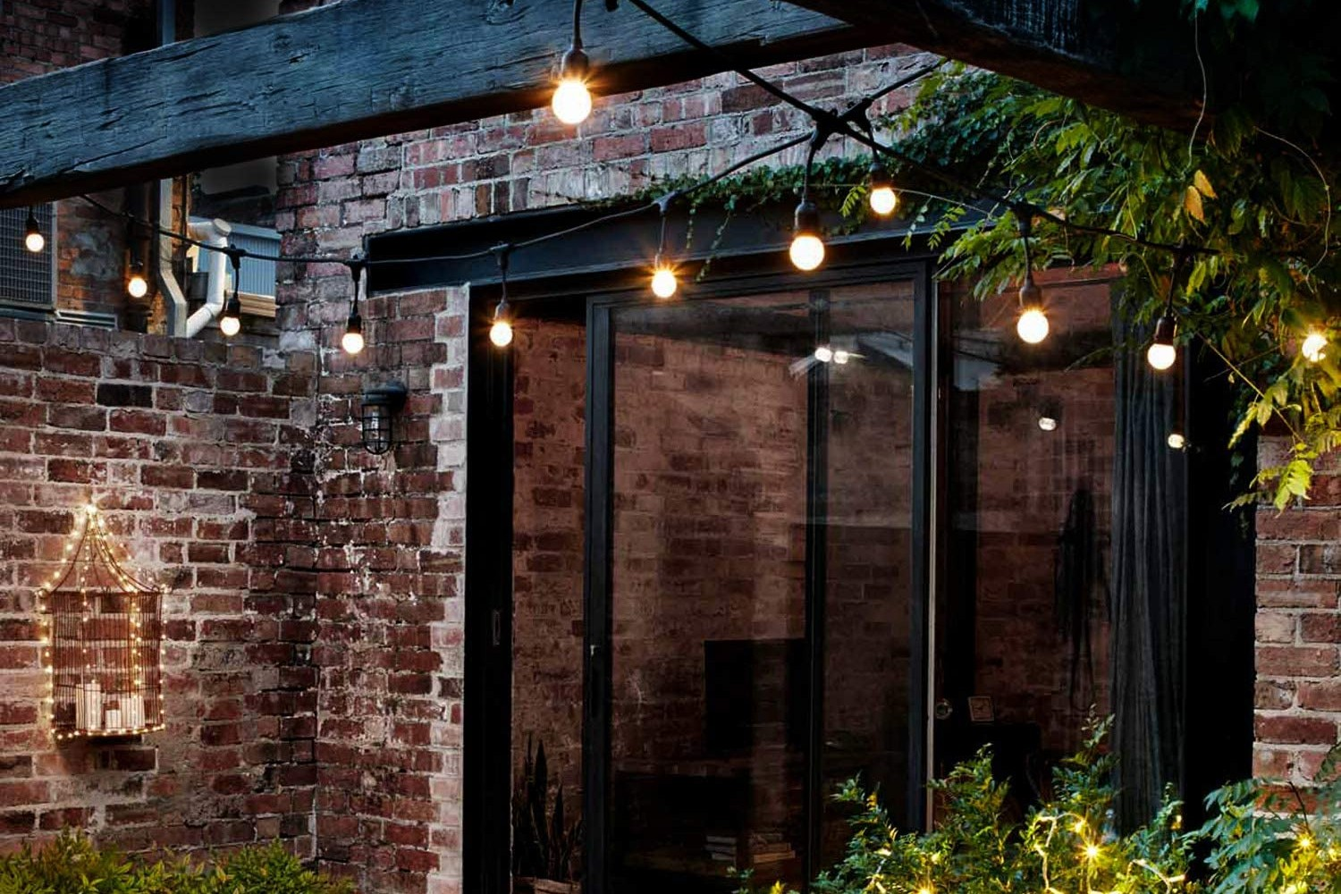 Picture of: The 5 Best Outdoor String Lights On Amazon Spy