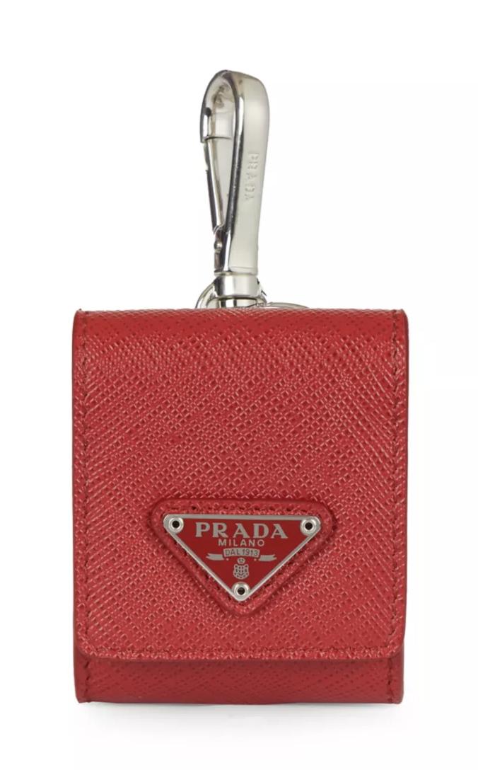 best airpod case prada leather