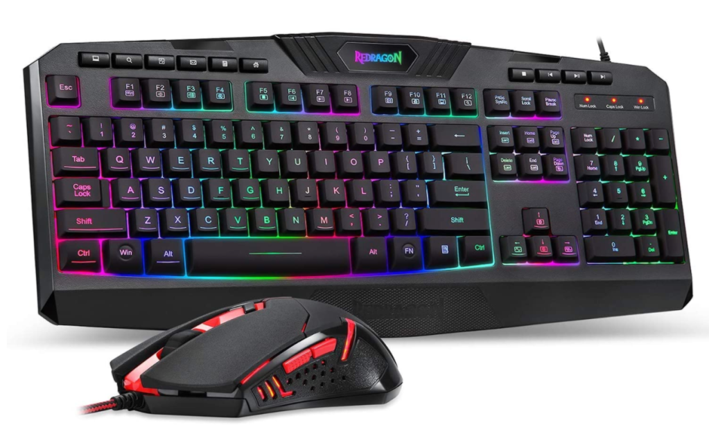 gaming keyboard redragon s101