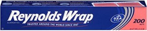 wasp nest removal reynolds wrap aluminum foil