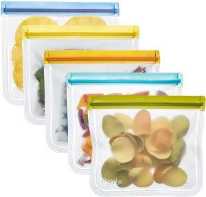 rezip Lay-Flat Leakproof Reusable Storage Bag