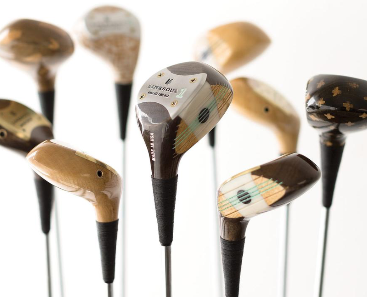 best golf gifts - linksoul wood clubs