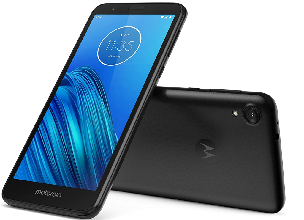 budget android phone moto e6