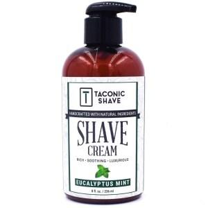 Taconic Shave Eucalyptus & Mint Shaving Cream