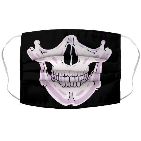 Look HUMAN Skull Face Mask