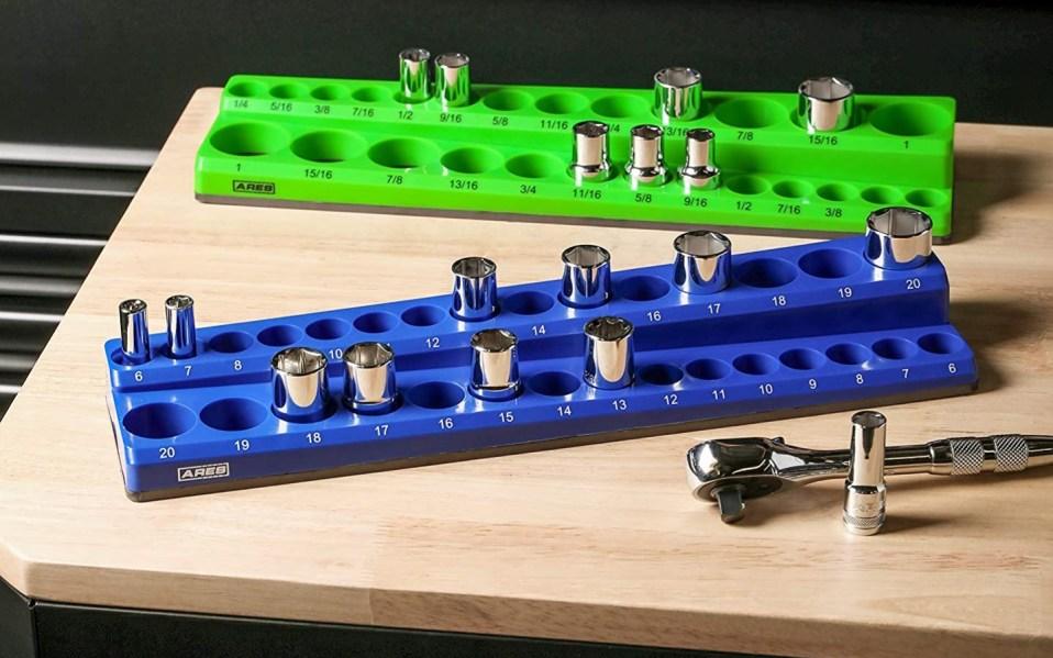 socket organizer trays