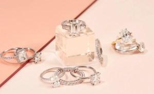 The Clear Cut Diamond Rings