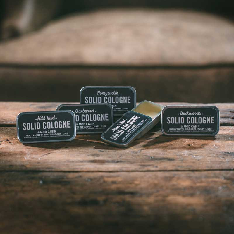 The Mod Cabin solid cologne selection