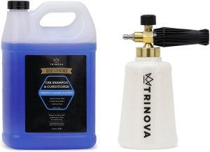 best car wash soap trinova foam cannon
