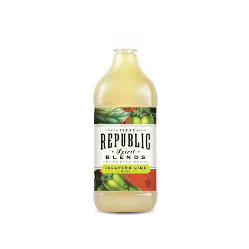 best tequila mixers republic spirit jalapeno lime