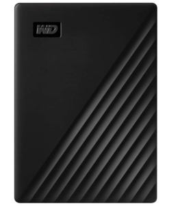 Western Digital My Passport External Hard Drive, Black