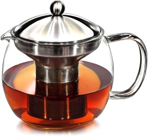 Willow and Everett Teapot with Infuser