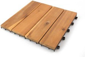 best wood deck tiles