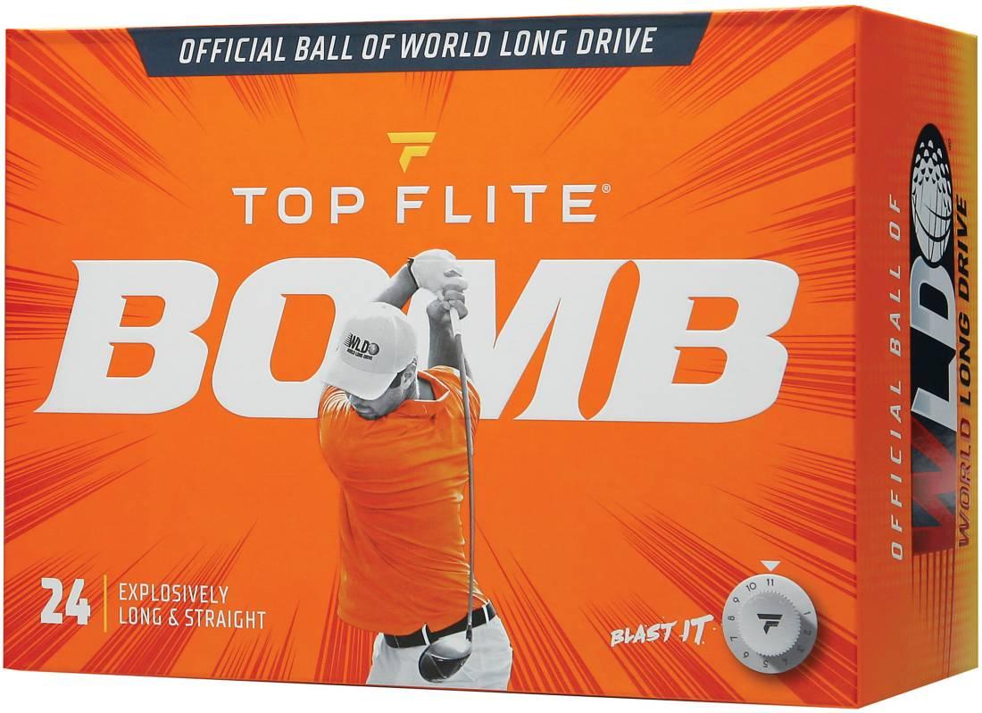 top flite bomb, best golf balls 2021