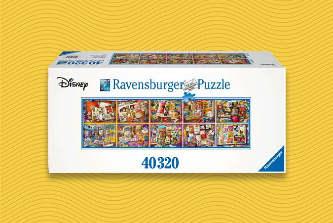 40000 piece mickey mouse puzzle