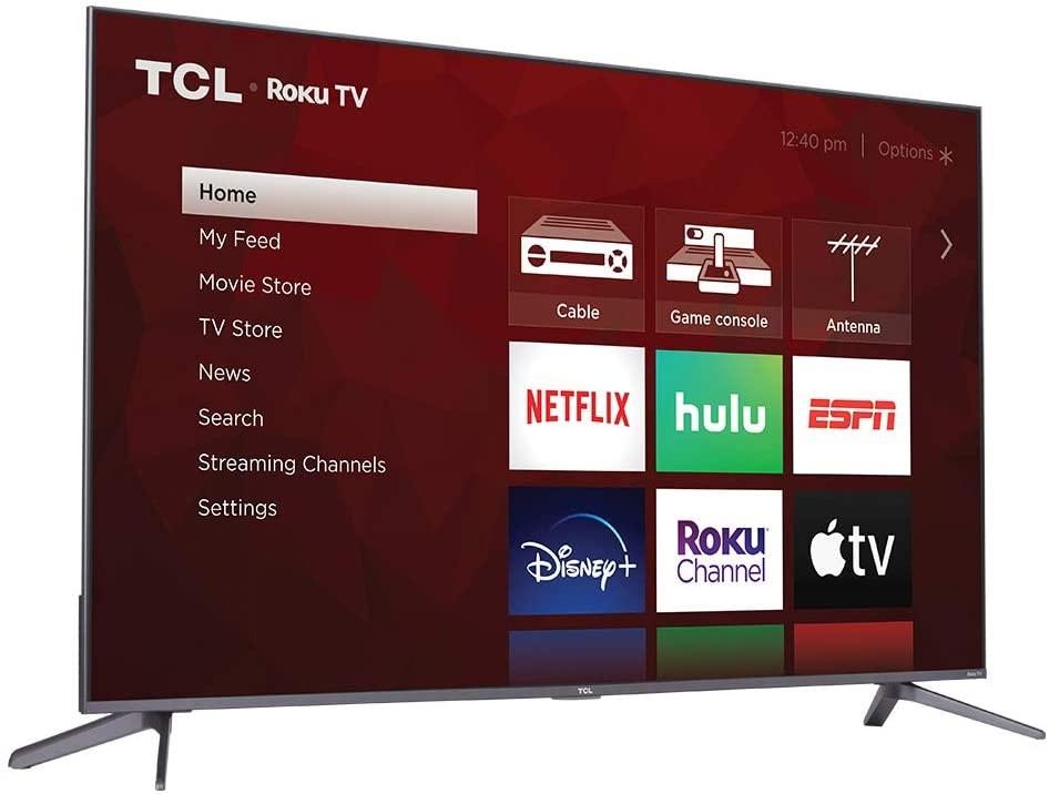 TCL 4-Series 55-Inch Flat-Screen TV, best flat screen tv