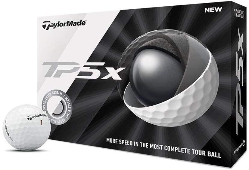 taylormade tp5x, best golf balls 2021