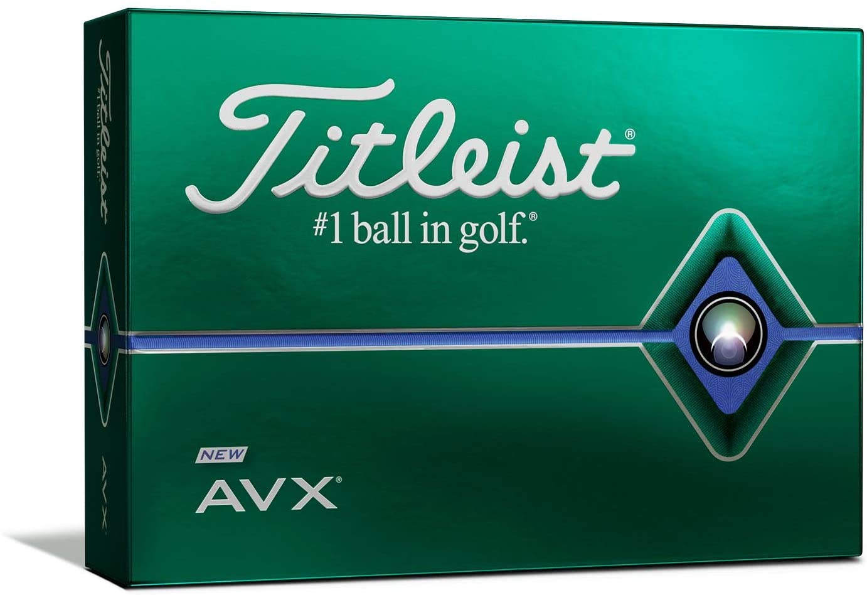 best golf balls of 2020 - titleist avx