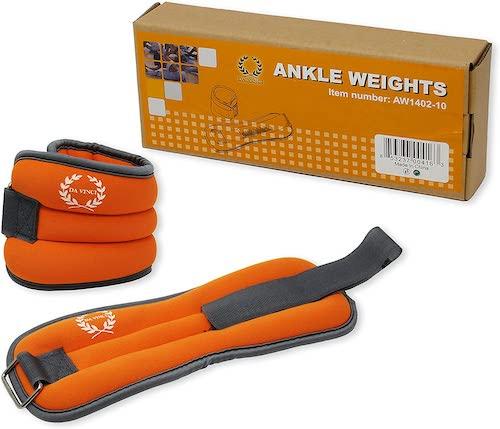 da vinci ankle weights