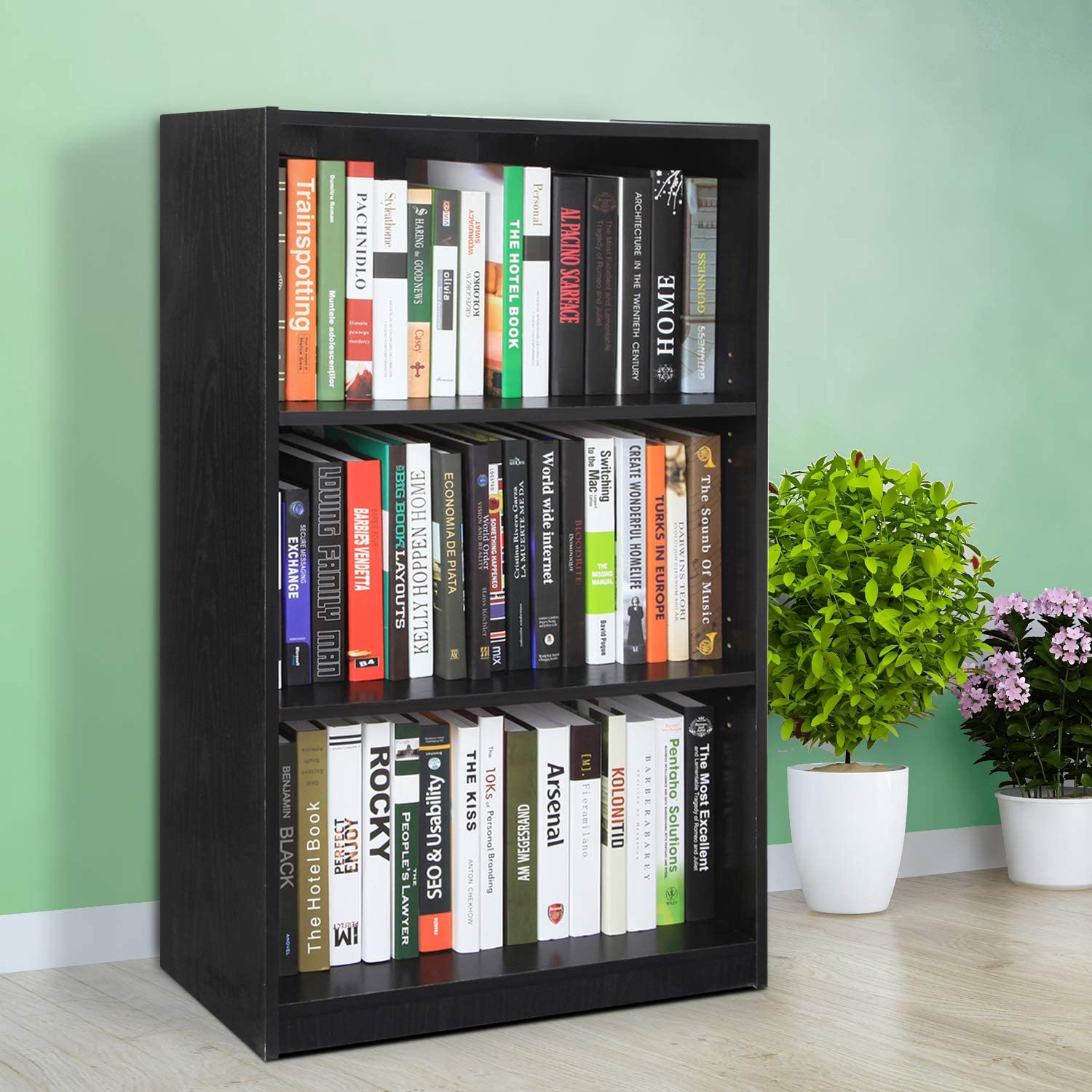 wood bookcase small