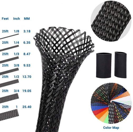 expandable braided wire sleeving