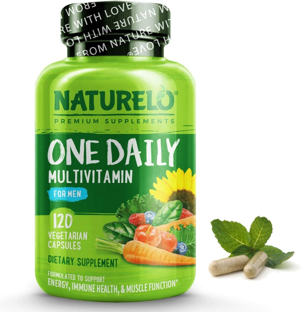 NATURELO One Daily Multivitamin, Best supplements for men