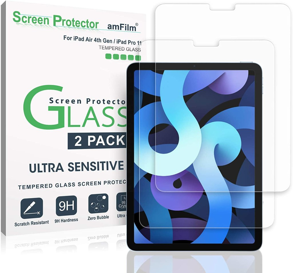 amfilm glass screen protector for ipad air