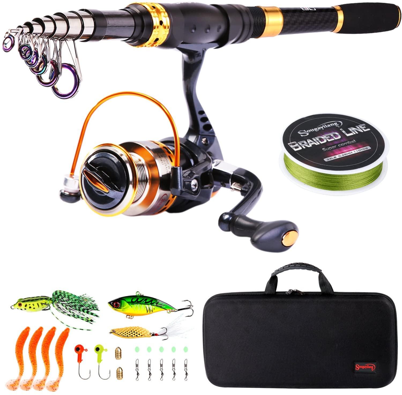 best hobbies for men - Fishing pole telescopic kit