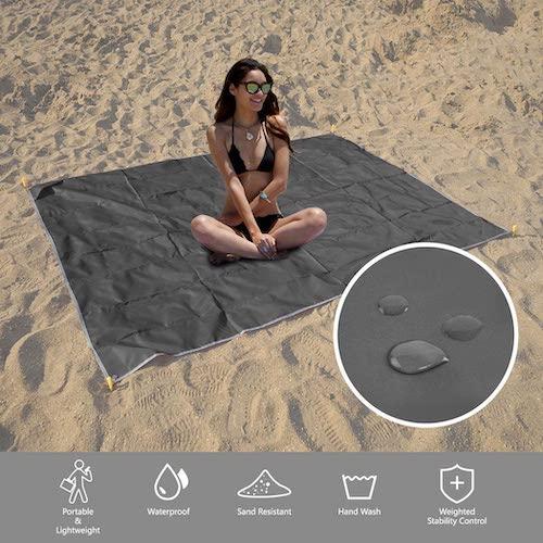 budget friendly beach blanket