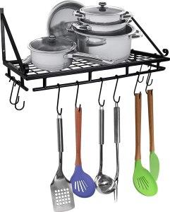 best Pots and pan hanging rack