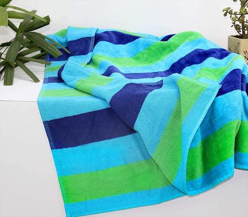 plush beach blanket