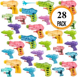 Pack of 28 Assorted Water Guns