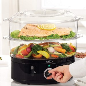 bella twi tier food steamer