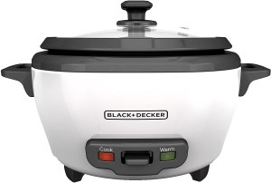 blackdecker uncooked rice cooker