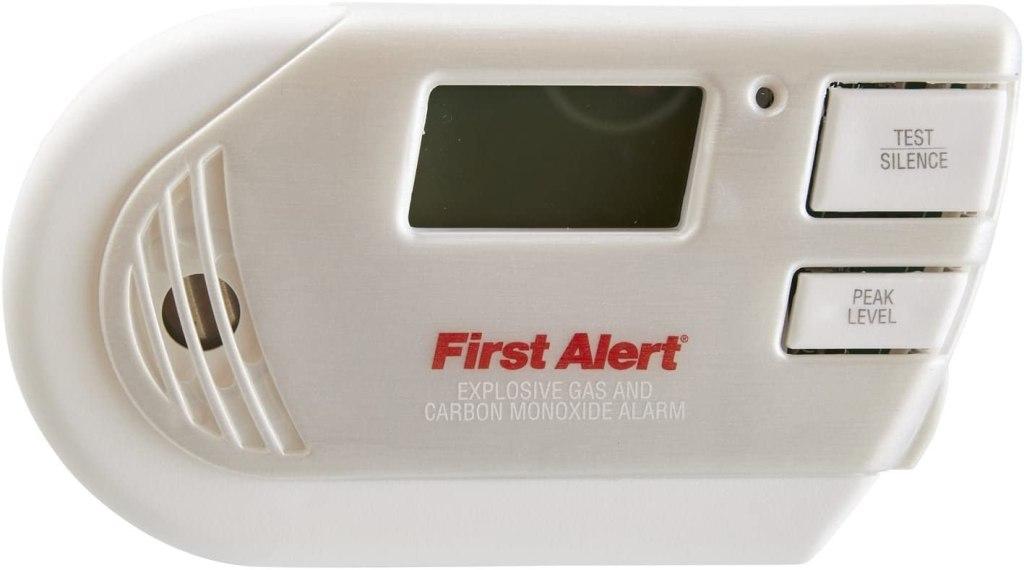 FIRST ALERT Combination Explosive Gas and Carbon Monoxide Alarm
