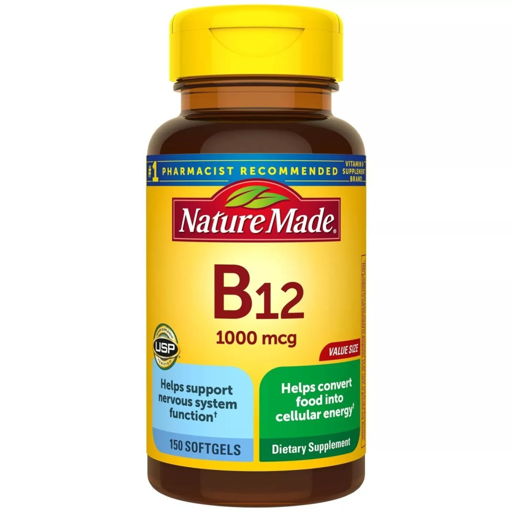 Nature Made Vitamin B12, Best supplements for men