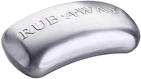 Stainless Steel Odor Rub Away Bar