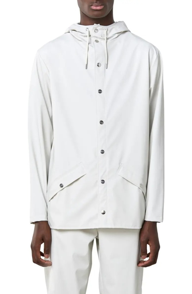Lightweight Hooded Rain Jacket by Rains