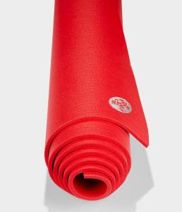 manduka red yoga mat, how to workout at home