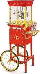 nostalgia concession vintage professional popcorn cart