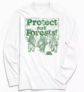 protect the forest t-shirt, best star wars gifts
