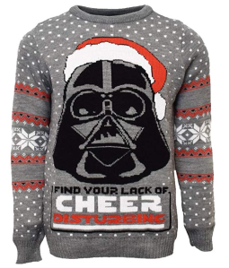 darth vader ugly sweater, best star wars gift