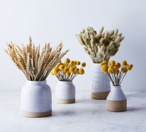 Food52 ceramic vases, gifts for artsy moms