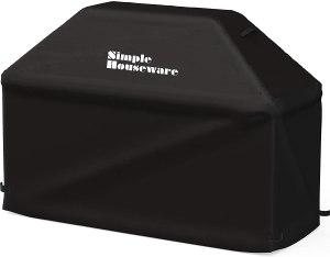 Simple Houseware 72-inch Waterproof Heavy Duty Gas BBQ Grill Cover
