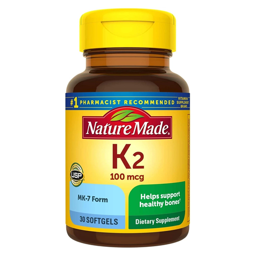Nature Made Vitamin K2, Best supplements for men