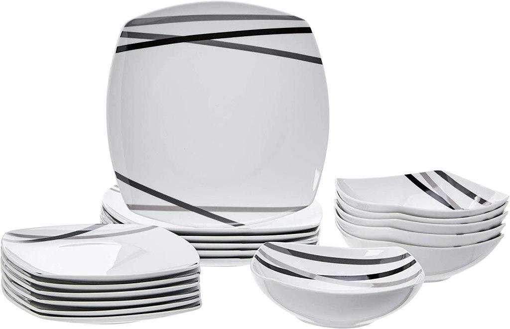 best dinnerware sets amazonbasics