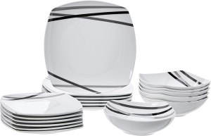 best dinnerware sets amazonbasics